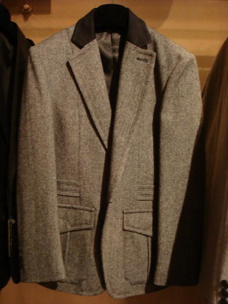 復古紳士風西裝外套