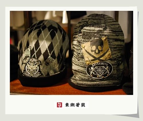日本顝顱頭造形毛帽