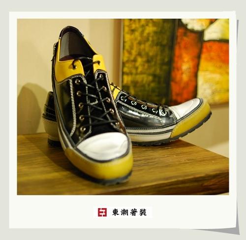 日系休閒鞋黑