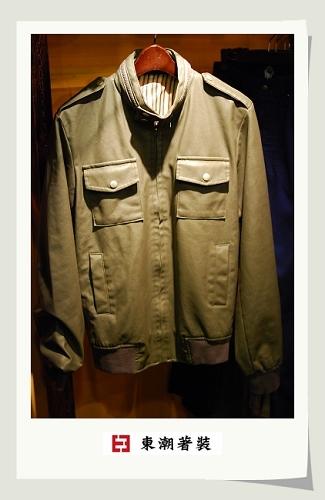 合皮合版外套