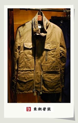 男性軍版外套