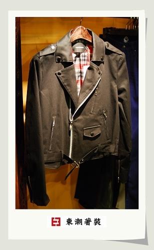 騎士短版夾克