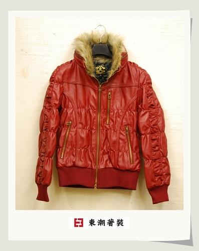 日本紅色可拆領合皮夾克.jpg