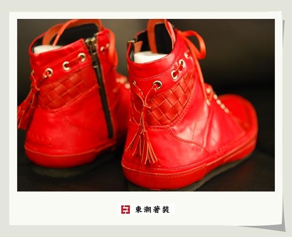 日本紅色休閒鞋B