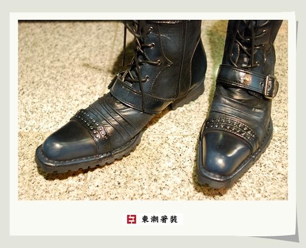 日本藍長靴C