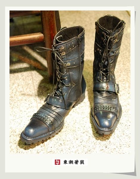 日本藍長靴A