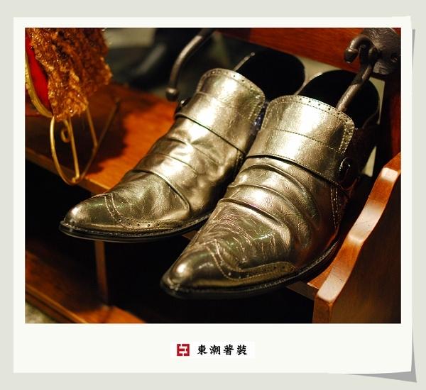 香檳金日本皮鞋