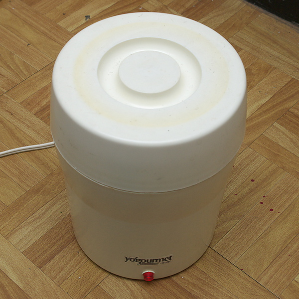 自製優酪乳步驟五:靜置4小時以上的時間