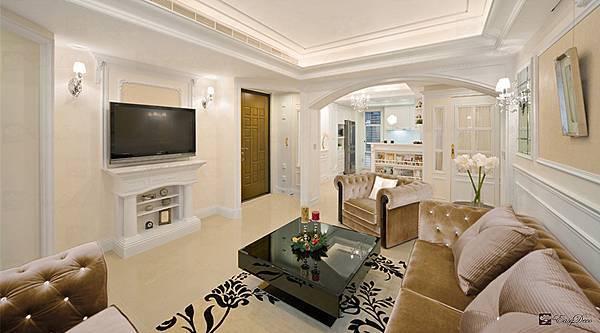 美式裝潢古典設計-客廳00.jpg