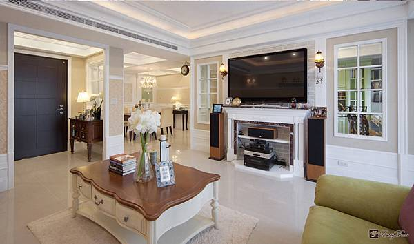 美式裝潢古典設計-客廳02.jpg