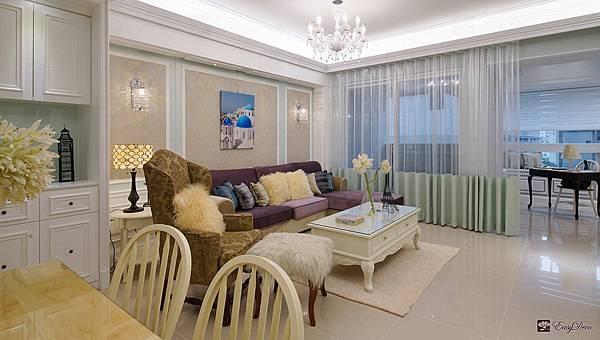 美式裝潢古典設計-客廳04.jpg