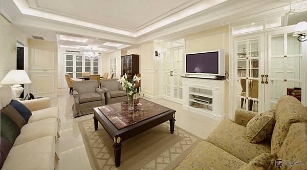 美式裝潢古典設計-客廳07.jpg