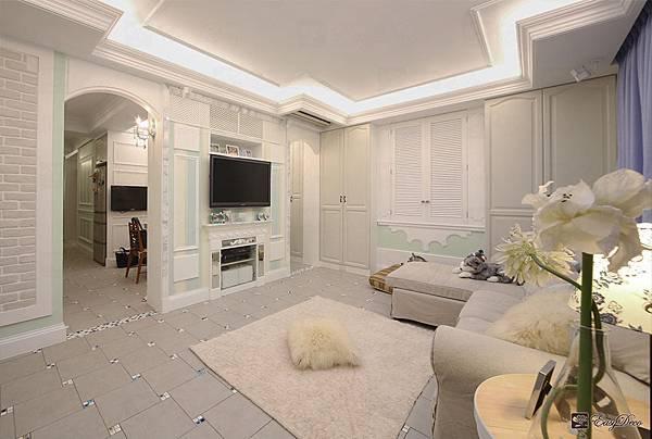 美式裝潢古典設計-客廳08.jpg