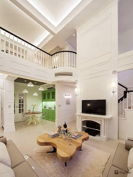 美式裝潢古典設計-客廳09.jpg