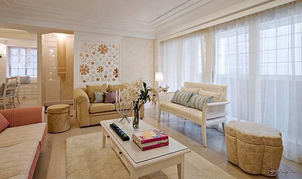 美式裝潢古典設計-客廳11.jpg