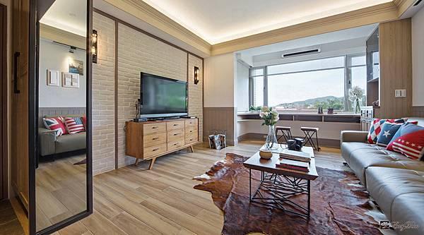 美式裝潢古典設計-客廳12.jpg