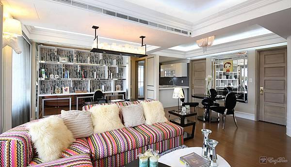 美式裝潢古典設計-客廳14.jpg