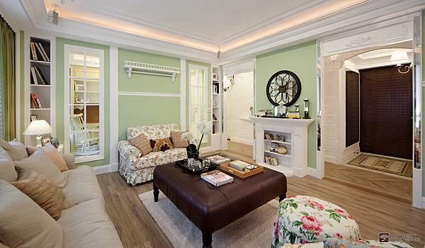 美式裝潢古典設計-客廳15.jpg