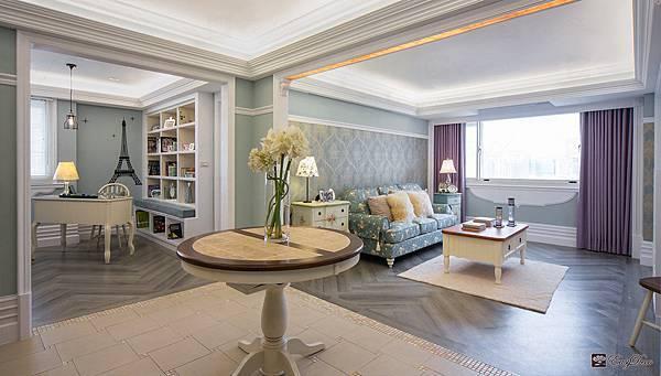 美式裝潢古典設計-客廳16.jpg
