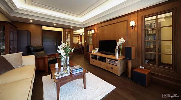 美式裝潢古典設計-客廳17.jpg
