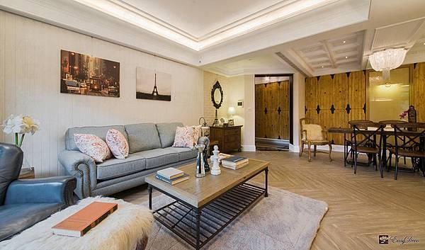 美式裝潢古典設計-客廳19.jpg