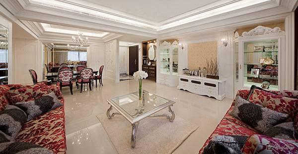 美式裝潢古典設計-客廳21.jpg