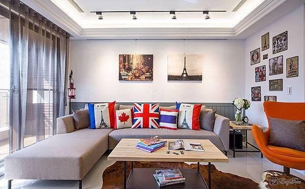 美式裝潢古典設計-客廳22.jpg