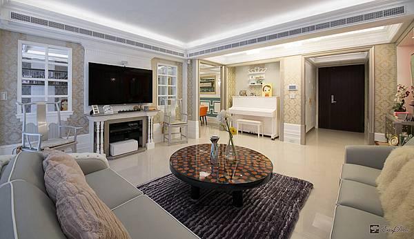 美式裝潢古典設計-客廳23.jpg