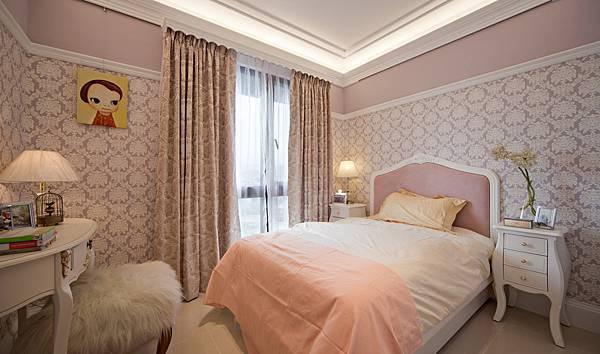 美式裝潢古典設計-臥室06.JPG