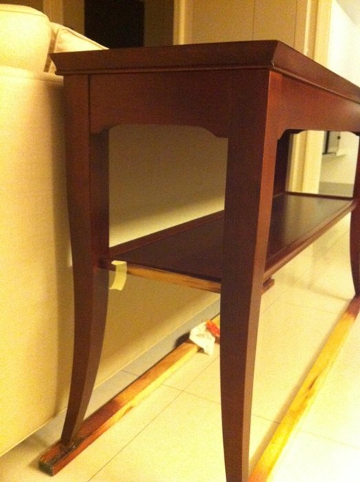 Stickley Sofa Table