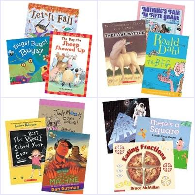 Scholastic 經典英文套裝童書