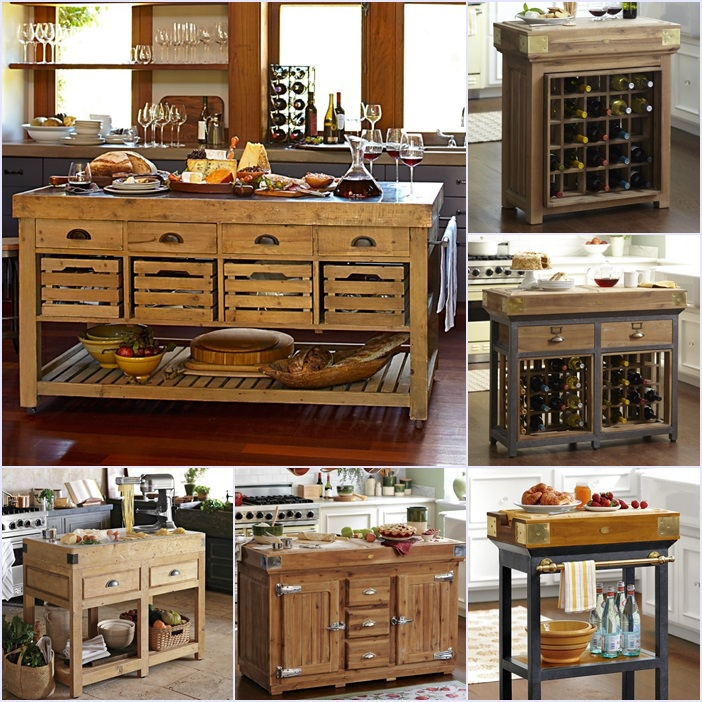 Williams-Sonoma Kitchen Islands