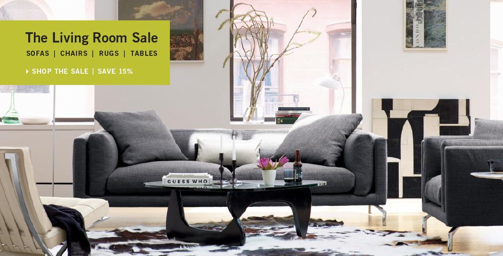 DWR「The Living Room Sale 客廳家具特惠」八五折 (8/28 止)