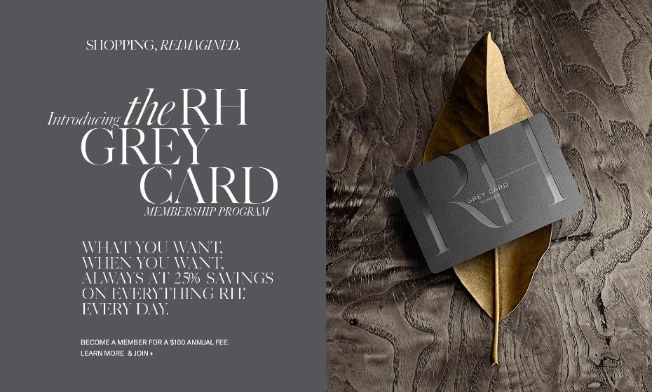 RH Grey Card