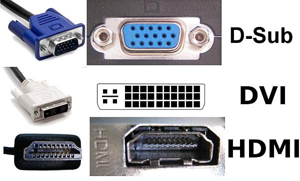 「D-SUB、DVI、HDMI」的圖片搜尋結果