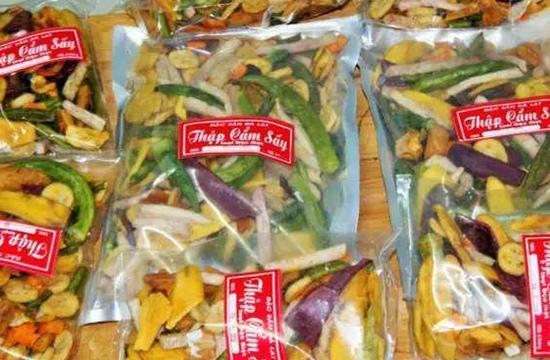 越南綜合果蔬乾