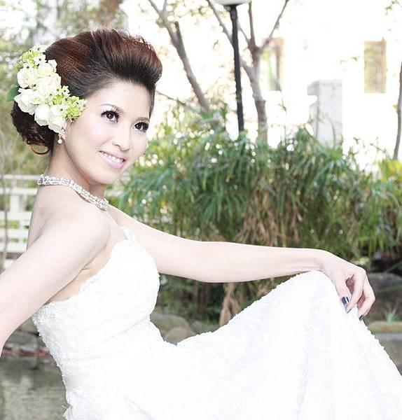 新娘造型-白紗_拍婚紗造型E001