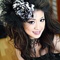 新娘造型-晚禮服_婚紗攝影造型J003