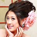 新娘造型-晚禮服_結婚宴客造型F004