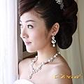 新娘造型-白紗_迎娶.結婚造型A009