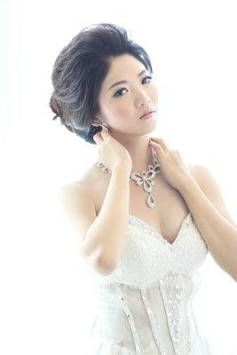 新娘造型-白紗_結婚宴客造型A011