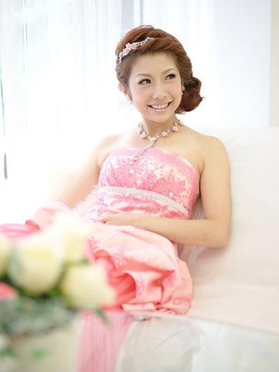 新娘造型-晚禮服_結婚送客照片集F008