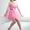 新娘造型-晚禮服_拍婚紗造型照片集J004