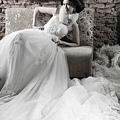 新娘造型-白紗_拍婚紗造型照片集E002