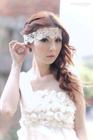 新娘造型-白紗_拍婚紗造型照片集E004