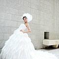 新娘造型-白紗_婚紗攝影照片集E005