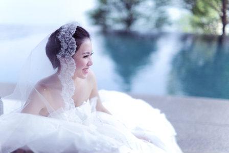 新娘造型-白紗_婚紗攝影照片集E006