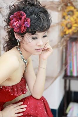 新娘造型-晚禮服_敬酒宴客造型照片集F010