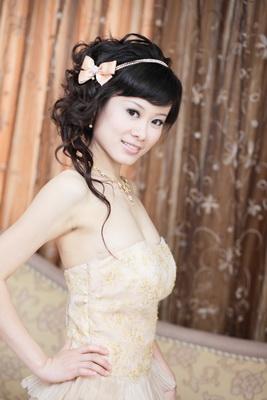 新娘造型-晚禮服_敬酒宴客造型照片集F011