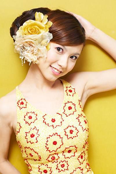 新娘造型-晚禮服_結婚宴客造型照片集F012